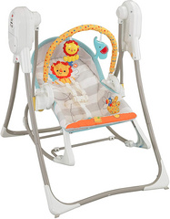 Fisher Price 3-in-1 Swing n Rocker, Ležalnik in Gugalnik FPROC12