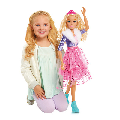 Barbie Best Fashion Friend Princess PUNČKA 70cm, FLRTOY10