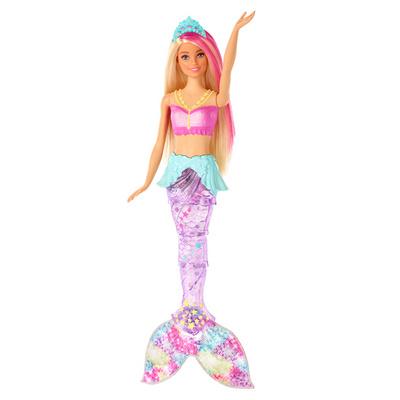 Barbie morska deklica s svetlečim repom BBETOY58