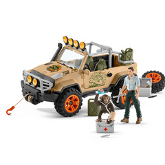 Schleich 4X4 Vehicle With Winch, vozilo z vitlom SLHTOY14