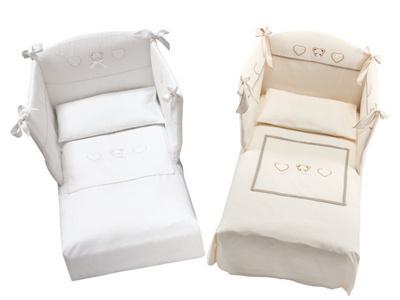 AZZURRA GEMINI posteljnina 385101- 2 barvi (1 Komplet)