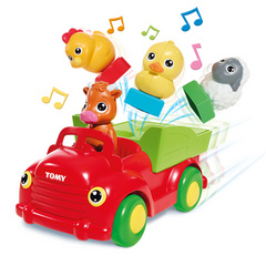 Tomy Sort n Pop Musical Farmyard Friends