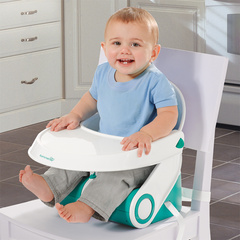 SUMMER INFANT Sit N Style Booster Seat Teal/White SMRFED09