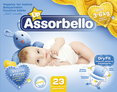 Assorbello Plenice Mini 3/6 kg  00601