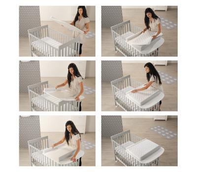 AZZURRA posteljica HOMI Baby Space  ADHOMIBABY-01