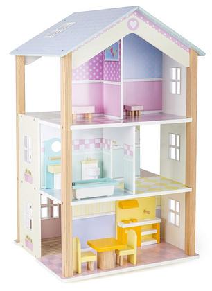 LEGLER Hiša za lutke 3-nadstropna, vrtljiva  11192