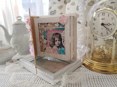 SCRAPEK knjiga z cvetlično pergolo za ustvarjanje, SC PU15