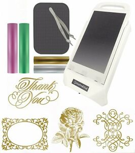 COUTURE CREATIONS GoPress & Foil Me Heat Activated Foil komplet (5pc) CO726312