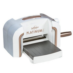 "SPELLBINDERS  Platinum 6 Die Cutting And Embossing Machine-6"" Platform PE-100"