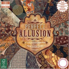 SET papirjev Perfect Allusion, 15x15cm, set 48, Trimcraft TC FEPAD175