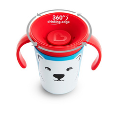 MUNCHKIN Miracle® 360ᵒ Eco Trainer Cup Polar Bear, skodelica MKNFED46-PLR
