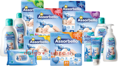 ASSORBELLO komplet 8 izdelkov AKCIJA
