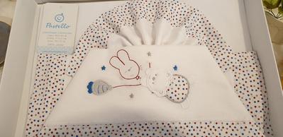 PASTELLO  3 delna postelnina za košek CL1