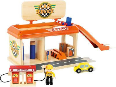 LEGLER Avtomobilska delavnica z bencinsko postajo, 10901
