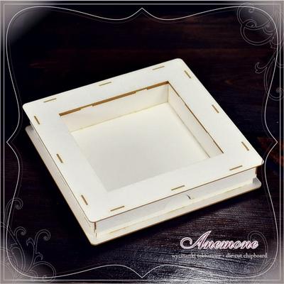 SCRAPEK kvadratna škatla z oknom, A1865
