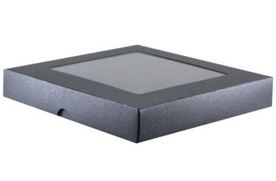 SCRAPEK škatla z oknom Srebrna ( Kovinsko siva ) 14909