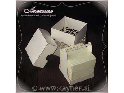 SCRAPEK škatla iz lepenke za Exploding box, SC ANE0073