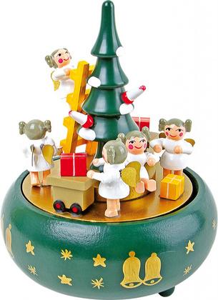 """LEGLER Glasbena skrinjica """"Božično drevo"""" 1759"""