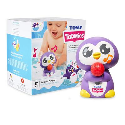 TOMY Toomies Tuneless Penguin PINGVIN TMYTOY02