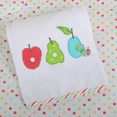 The Very Hungry Caterpillar Pram Blanket, odejica HCPBED02