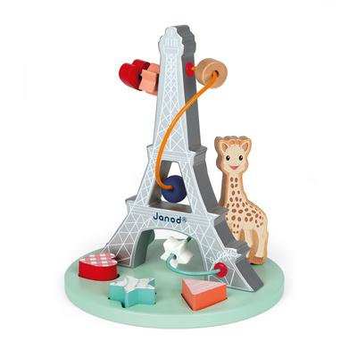 Janod Sophie La Girafe Bead Maze JNDTOY28