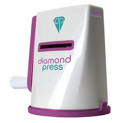 DIAMOND PRESS naprava ROZA, set za rezanje in embosiranje, CC DP123