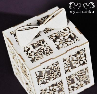 Wycinanka 3D darilo škatlica za Exploding Box