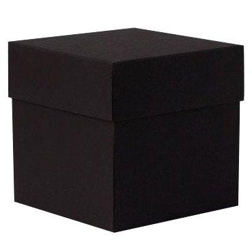 Na Strychu Exploding Box Črna ( škatlica presenečenja) 10x10 cm, BLCK006