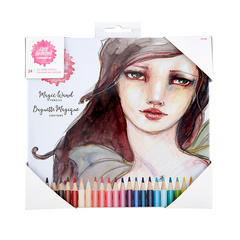 Spellbinders Magic Wand Colored Pencils, BARVICE 24 Kos JD-046