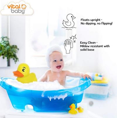 Vital Baby SPLASH igračka za kopel Megaduck, Ekstra Large 23 cm,velika Raca VTBTOY04