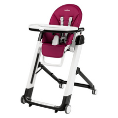 PEG PEREGO stolček Siesta Follow Me Berry 3314455