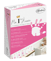 Aladine My First Year Paint Kit Pink , moji 1 odtisi 05332