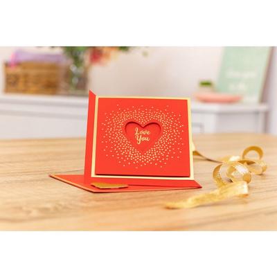 Gemini Foil Stamp 'N' Cut Elements Love You 2v1šablona , GEM-FSC-ELE-LYO