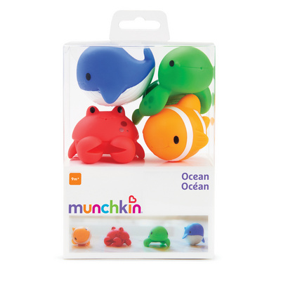 MUNCHKIN igrače za vodo morske živali MKNTOY02
