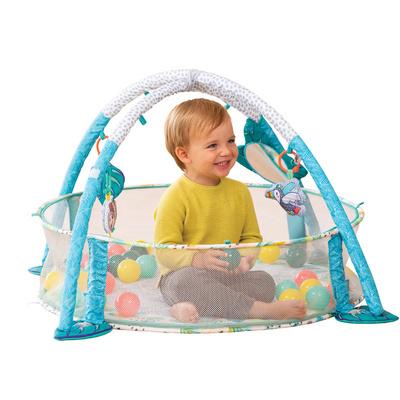 Infantino 3-in-1 Jumbo Activity Gym & Ball Pit, igralna blazina INFGYM05