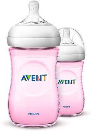 Philips Avent Natural steklenička Pink 260ml 2Pk, AVTFED46