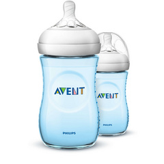 Philips Avent Natural steklenička modra 260ml 2Pk, AVTFED47