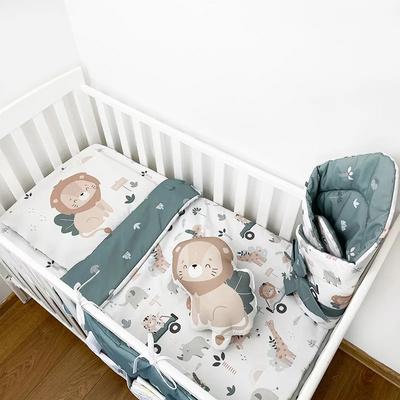 Amumu Safari posteljnina z nadevom 100 × 135/60 × 40 cm,  4587